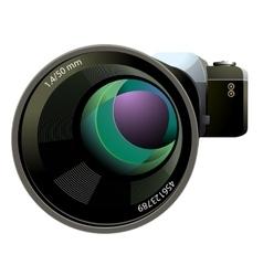 SLR Camera vector image