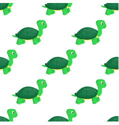turtle animal ocean green nature wildlife sea vector image