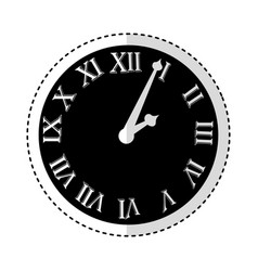 Watch with roman numbers vector
