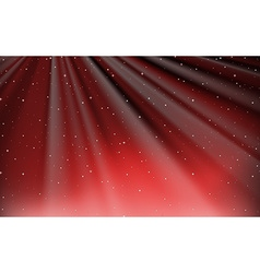 Background design with red sky vector