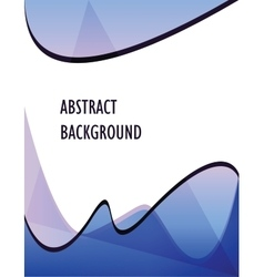 sea abstract background vector image vector image