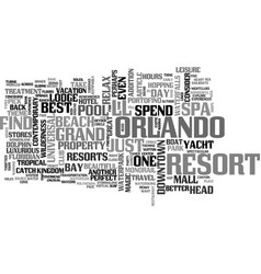 Advice for the theme park weary text word cloud vector