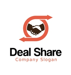 Deal Share vector image