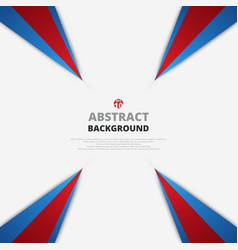 abstract of red and blue pattern geometric vector image