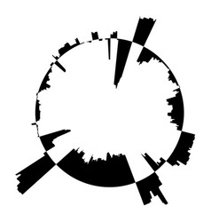 Audio equalizer soundtrack icon simple black vector