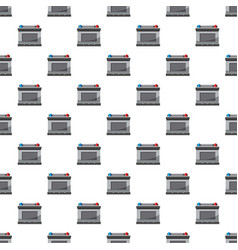 Car battery pattern vector