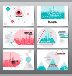 Design template abstract background vector