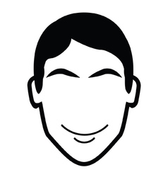 Face Icon vector image