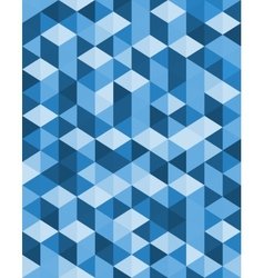 Geometric background design of triangles vector image