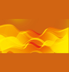 linear magical energy with imitation of fire vector image