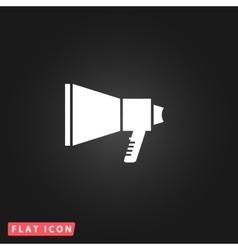 Megaphone flat icon vector