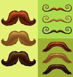 Mustaches-part 3 vector