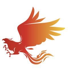 phoenix stock vector image
