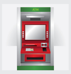 atm automatic teller machine vector image