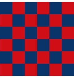 Blue Red Chess Board Background vector