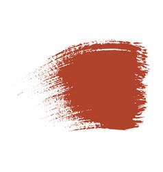 brush stroke ink line paint background vector image