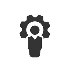 Business specialist icon vector