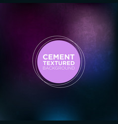 cemented wall grunge background in eggplant and vector image