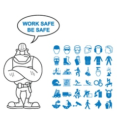 Health and Safety Graphics vector