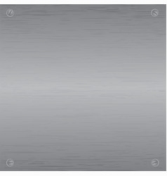 metal plate texture vector image