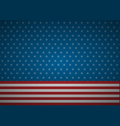 united states abstract flag background vector image