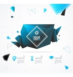 Geometry Abstract Background vector image vector image