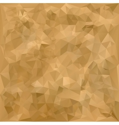 Old geometric polygonal paper texture vector image vector image