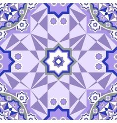 Decorative seamless pattern Retro background vector image vector image