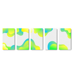 Collection instagram templates frames vector