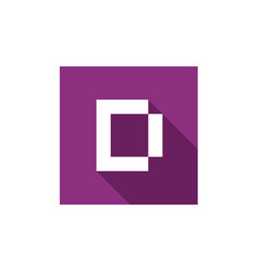 Letter d logo icon design vector