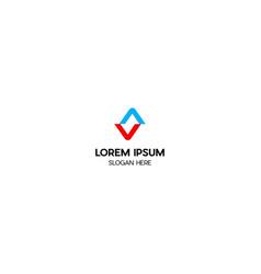 letter s creative logo design vector image