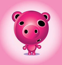 Pig Character vector image