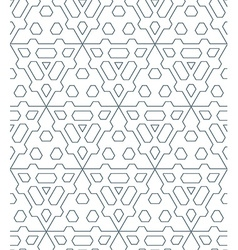 dark monochrome color triangle outline abstract vector image vector image