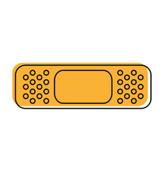 Adhesive bandages healthcare icon image vector