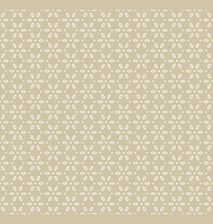 geometric golden seamless pattern in asian style vector image