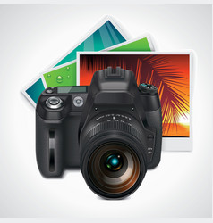 camera and photos xxl icon vector image vector image