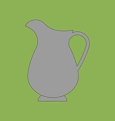 Decanter Carafe Icon vector image vector image