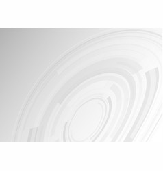 abstract gray background with technology vector image