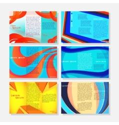 Brochures1 vector image