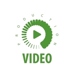Logo video vector