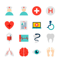 objects medical hospital vector image