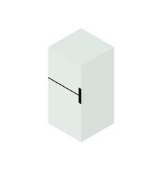 refrigerator isometric icon vector image