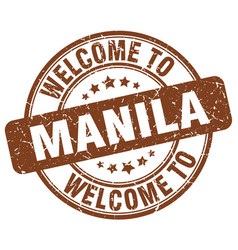 Welcome to manila vector