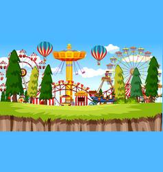 Amusement park vector