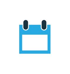 calendar colorful icon symbol premium quality vector image