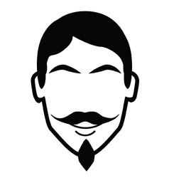 Moustache and Beard vector image