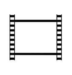 one frame retro photo film strip vector image