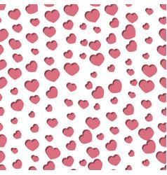 seamless stylish valentine s day pattern vector image