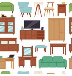 furniture interior home design modern living room vector image