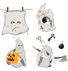 Ghosts Clip art cartoon vector image vector image